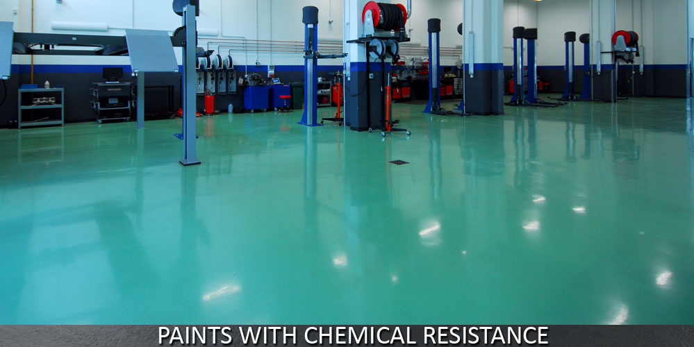 Chemical Resistant Paints for Flooring