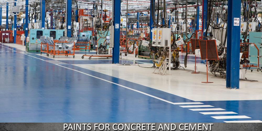 Paints for Concrete and Cement Flooring