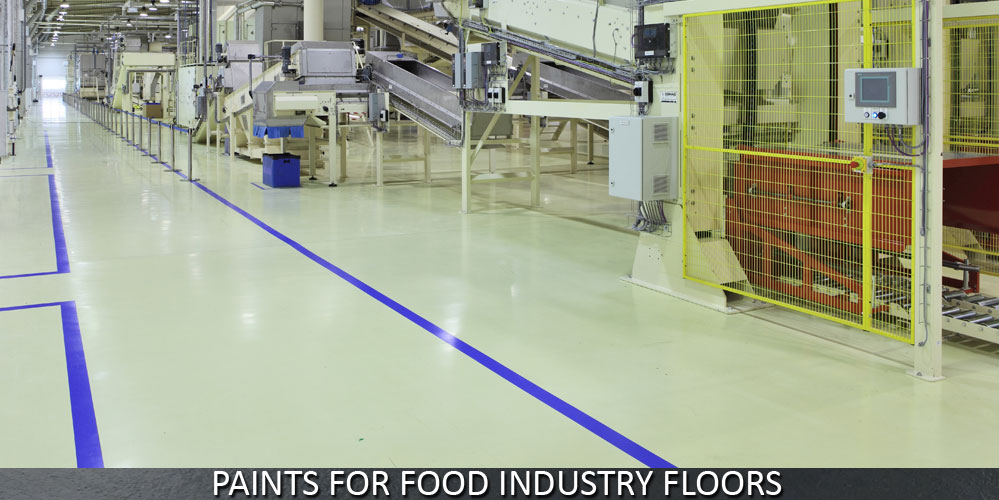 Paints for Food Industry Floors
