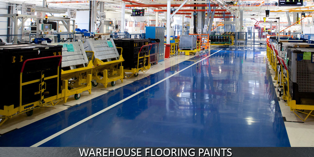 Paints for Industry Warehouse Floors